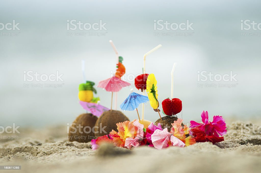 Exotic cocktails royalty-free stock photo