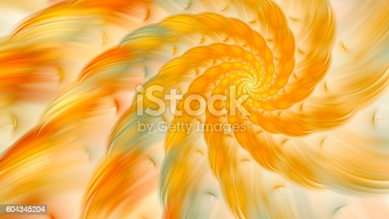 istock Exotic flower. Dance of flower petals. 604345204