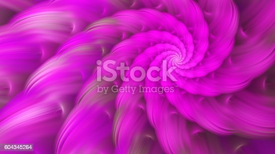 istock Exotic flower. Dance of flower petals. 604345264