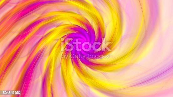 istock Exotic flower. Dance of flower petals. 604345450