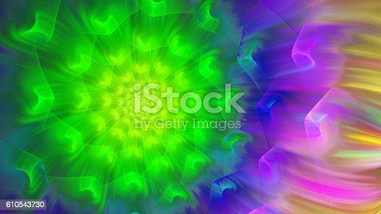616254646istockphoto Exotic flower. Exotic petals dandelion. 610543730