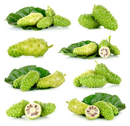 istock Exotic Fruit - Noni isolated on the white background 514846416