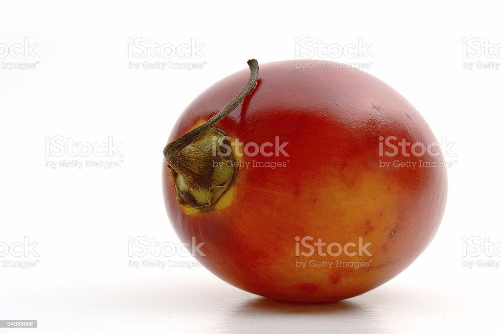 Exotic fruit ( Tamarillo ) stock photo