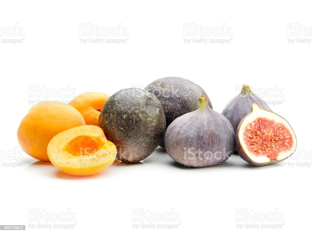 Exotic Fruit sliced stock photo