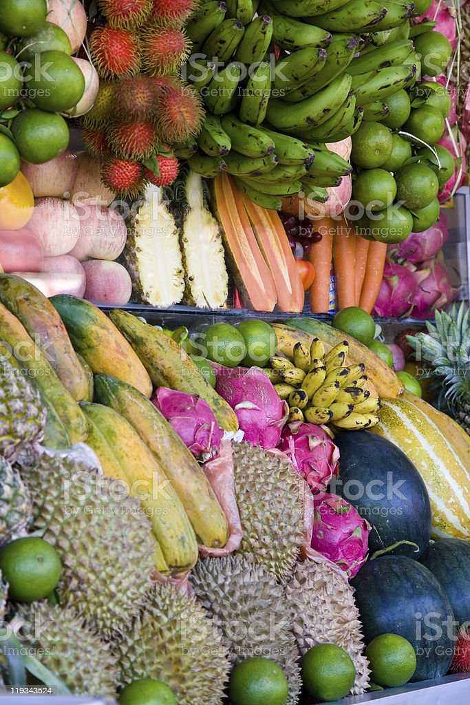 Exotic fruits royalty-free stock photo
