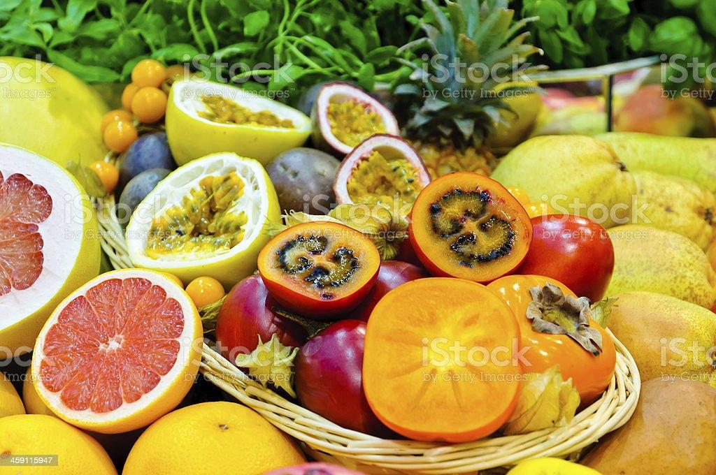 Exotische Früchte – Foto