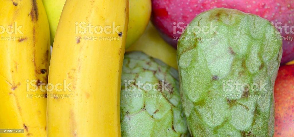 exotic fruits stock photo