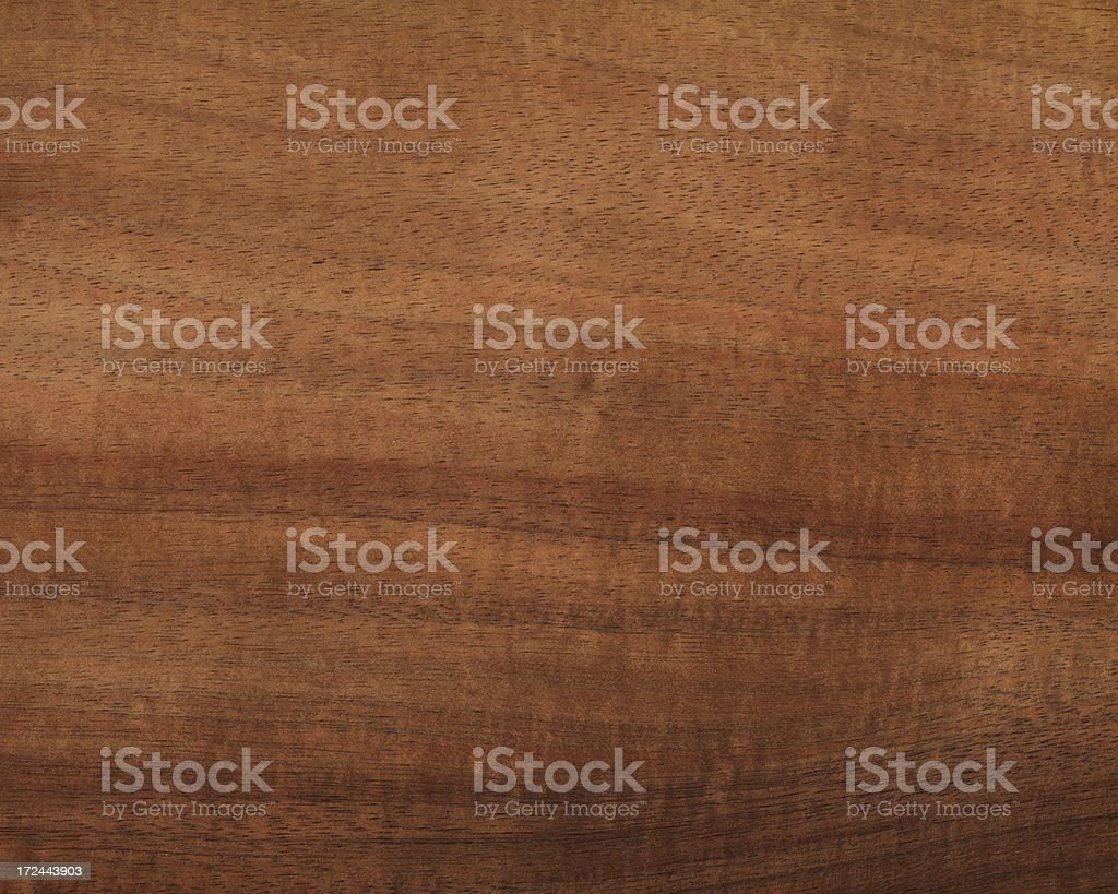 exotic Hawaiian koa wood stock photo