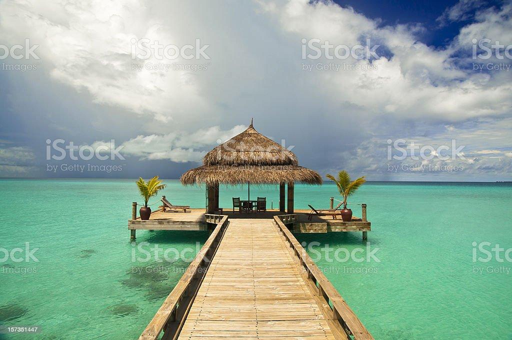 Exotic holidays stock photo