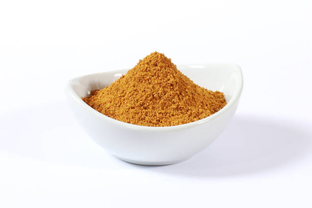 Exotic Indian and Asian Gourmet Food Ingredients Exotic Indian and Asian Gourmet Food Ingredients curry powder stock pictures, royalty-free photos & images