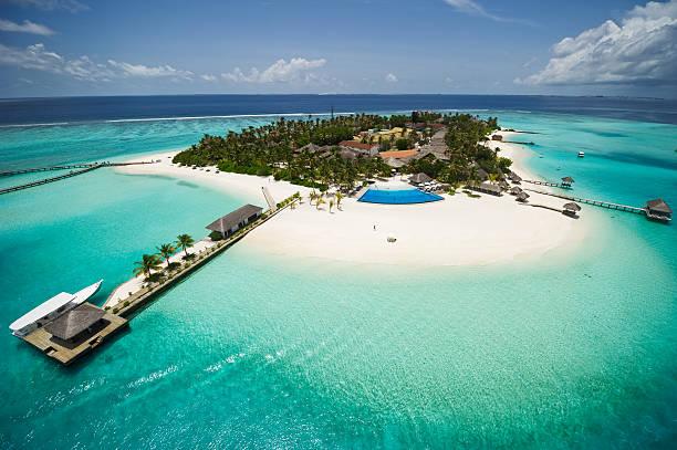 Île exotique des Maldives - Photo