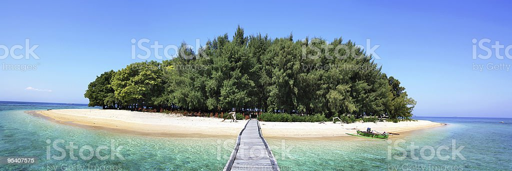exotic  island royalty-free stock photo