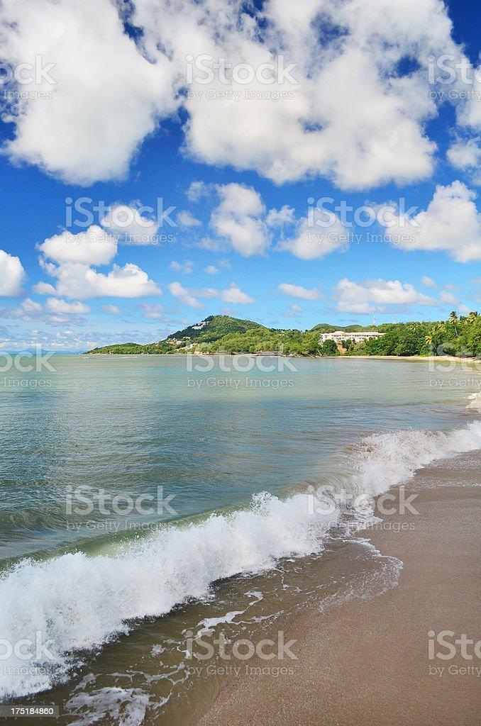 exotic islands beach royalty-free stock photo