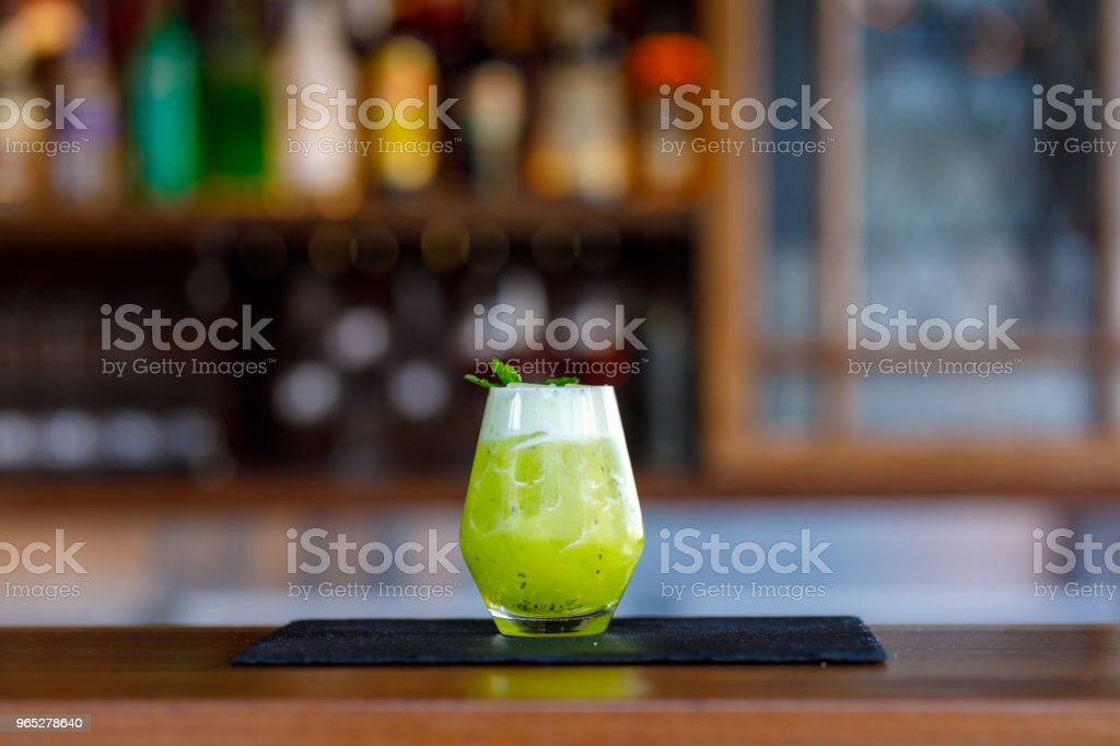 Exotic Lime Cocktail zbiór zdjęć royalty-free