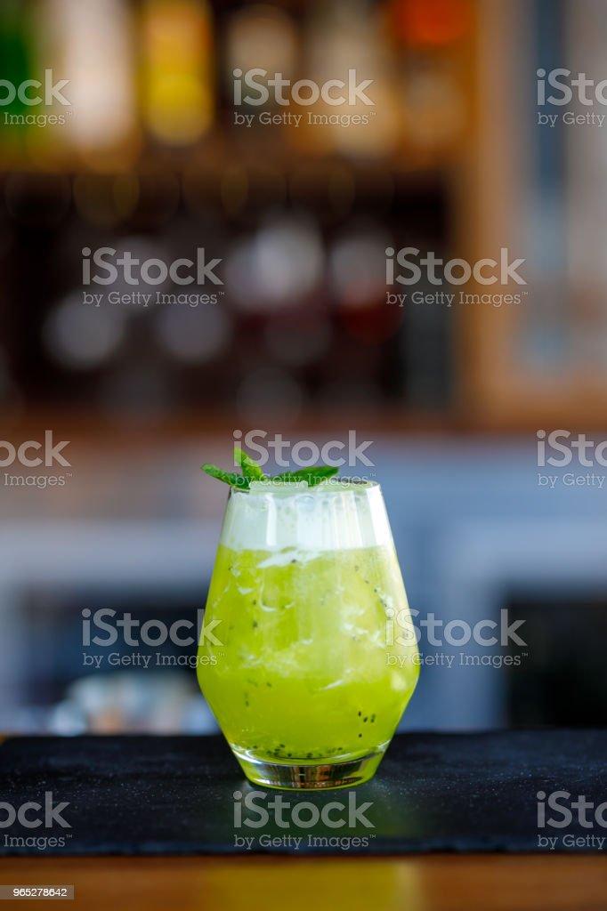 Exotic Lime Cocktail zbiór zdjęć royalty-free