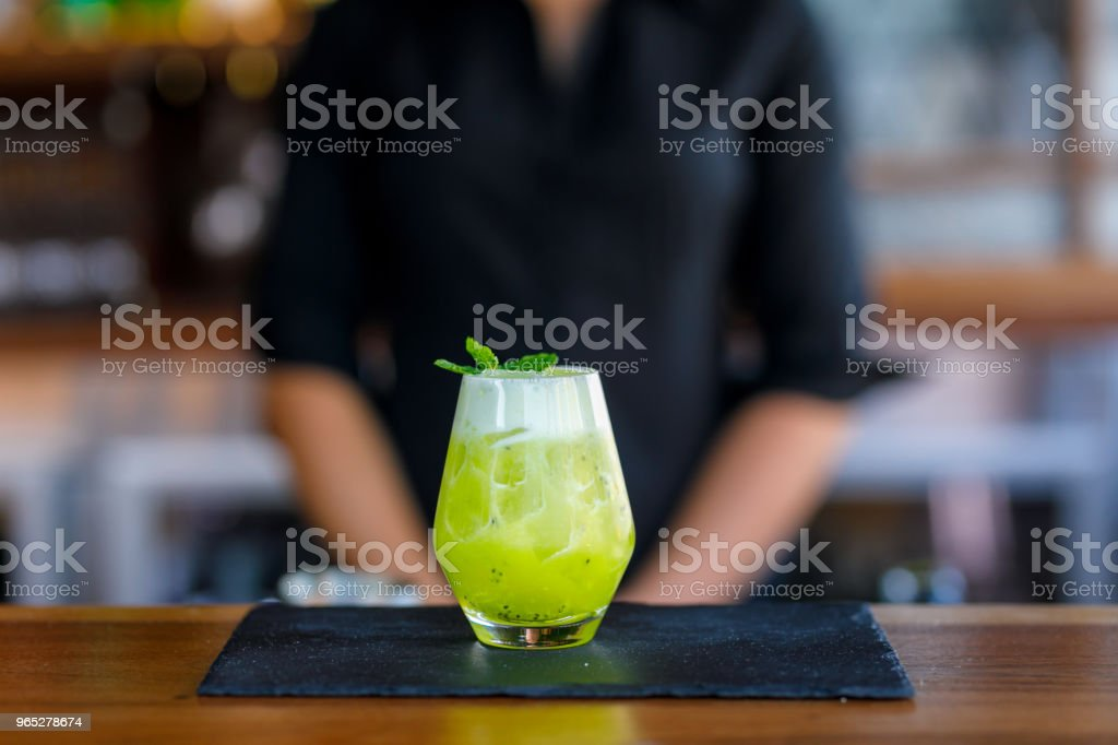 Exotic Lime Cocktail royalty-free stock photo