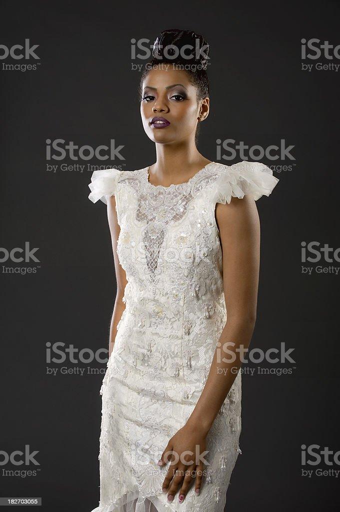 Exotic Model stock photo