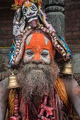 istock Exotic sadhu 1219001279