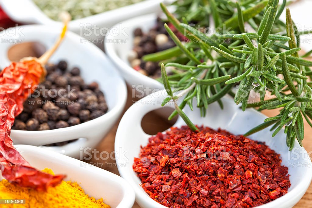Exotic Spices royalty-free stock photo