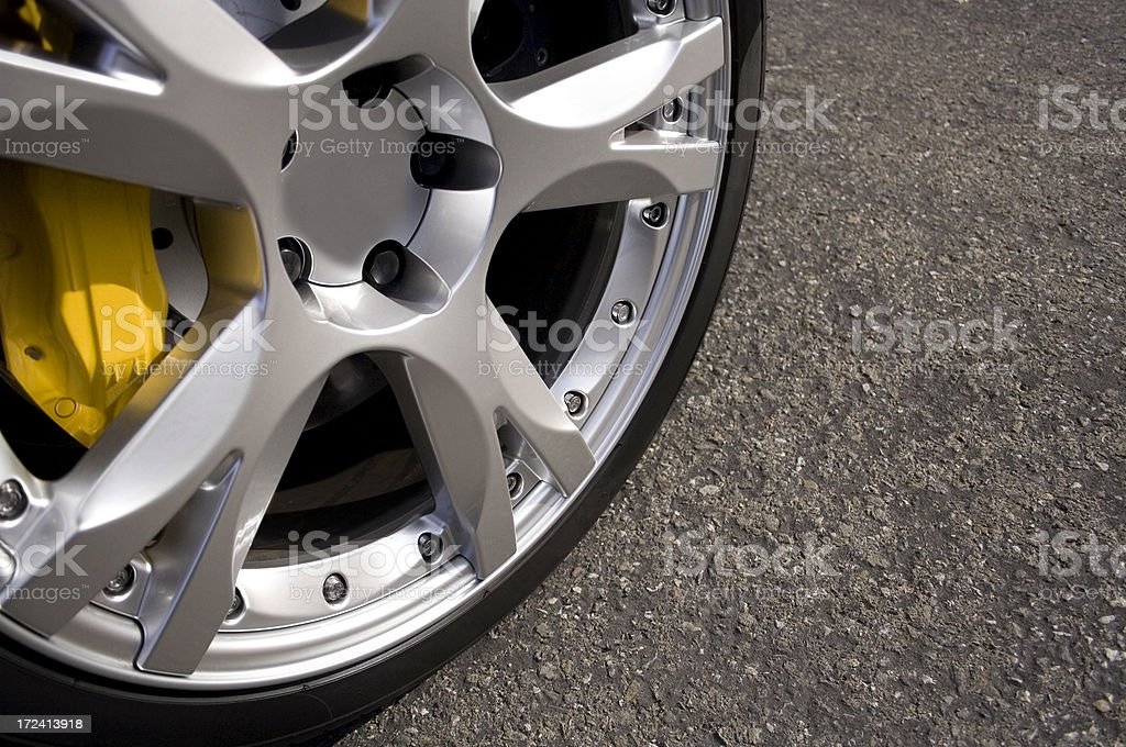 Exotic Wheel royalty-free stock photo