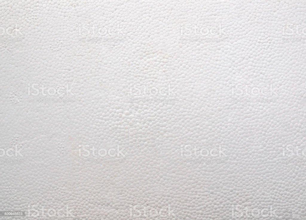 Expanded polystyrene stock photo