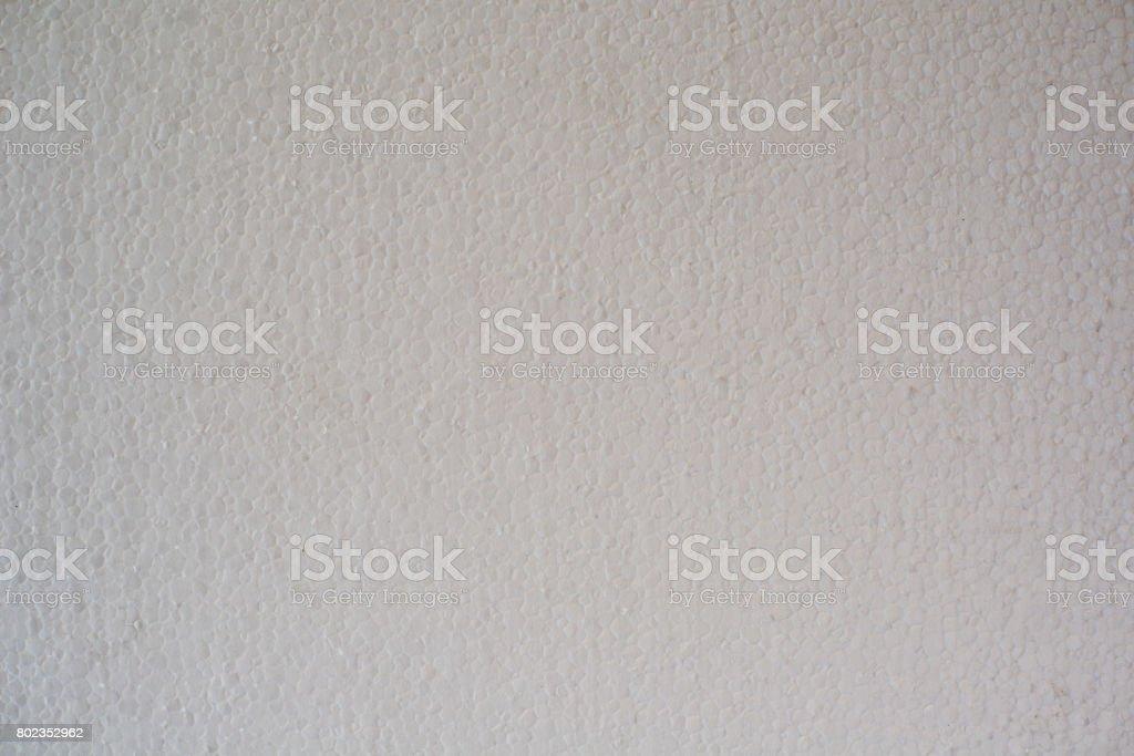 Expanded polystyrene sheet stock photo