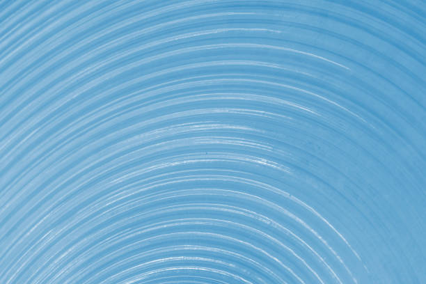Expanding circles abstract wallpaper background stock photo