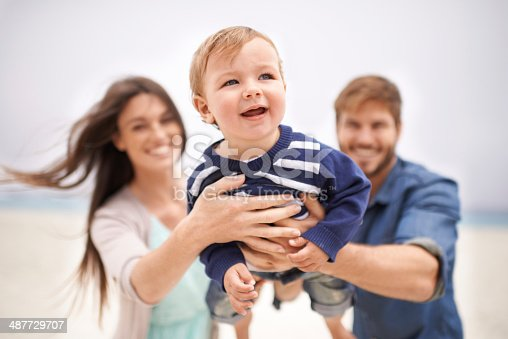 istock Expanding their collection of fond family memories 487729707