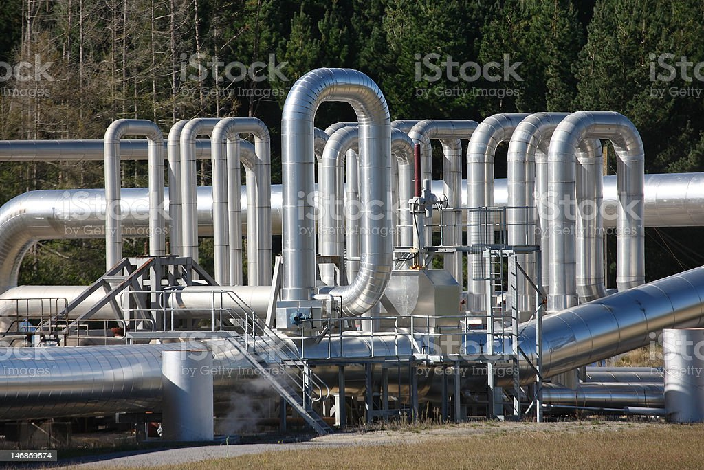 Expansion Bends stock photo
