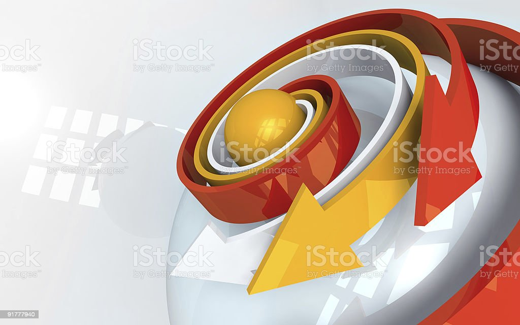 Expansion royalty-free stock photo