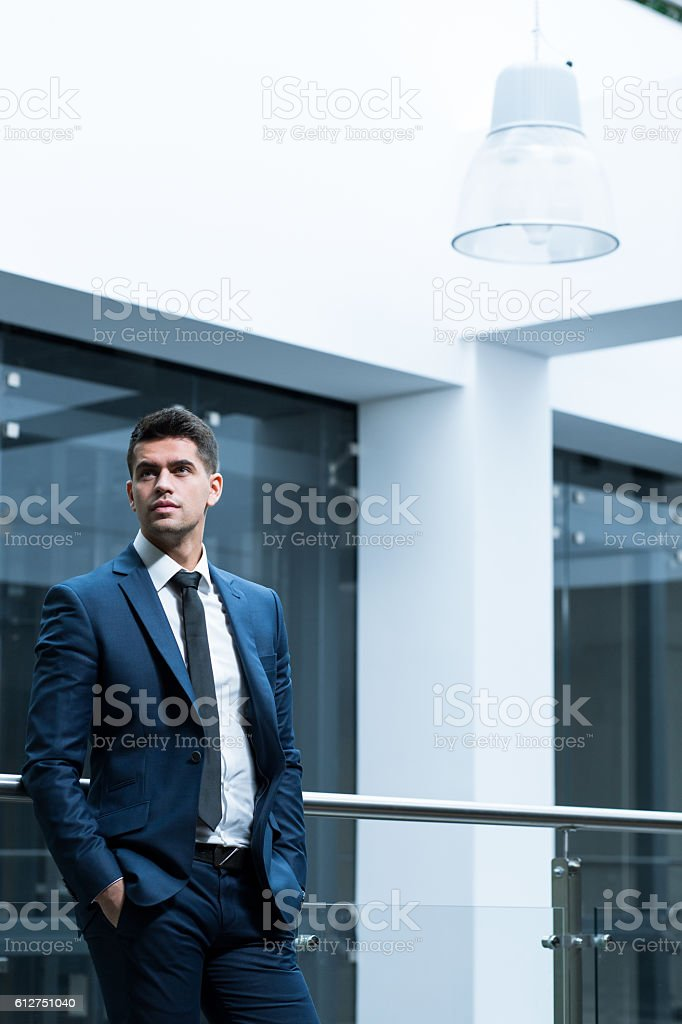 Expect to get promoted stock photo