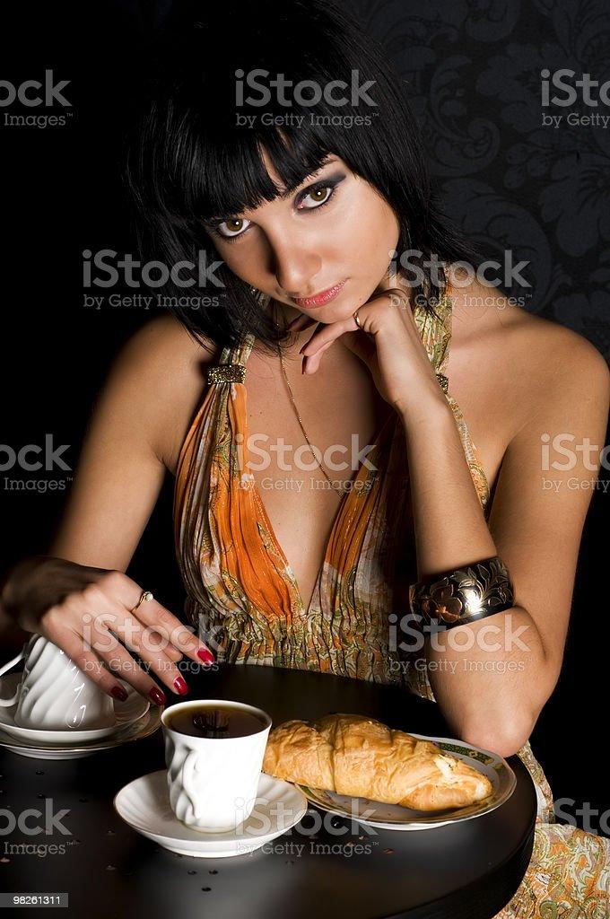 기대치는 만들진 카페 royalty-free 스톡 사진
