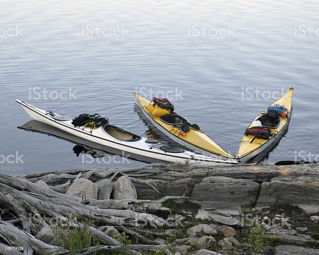 Expedition Kayaks royalty-free stock photo