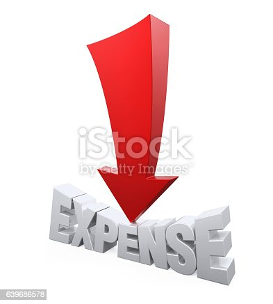 istock Expense Reduction Concept 639686578