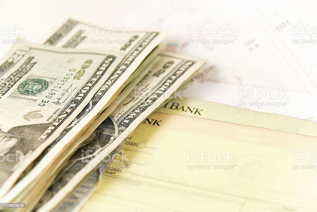 expenses royalty-free stock photo