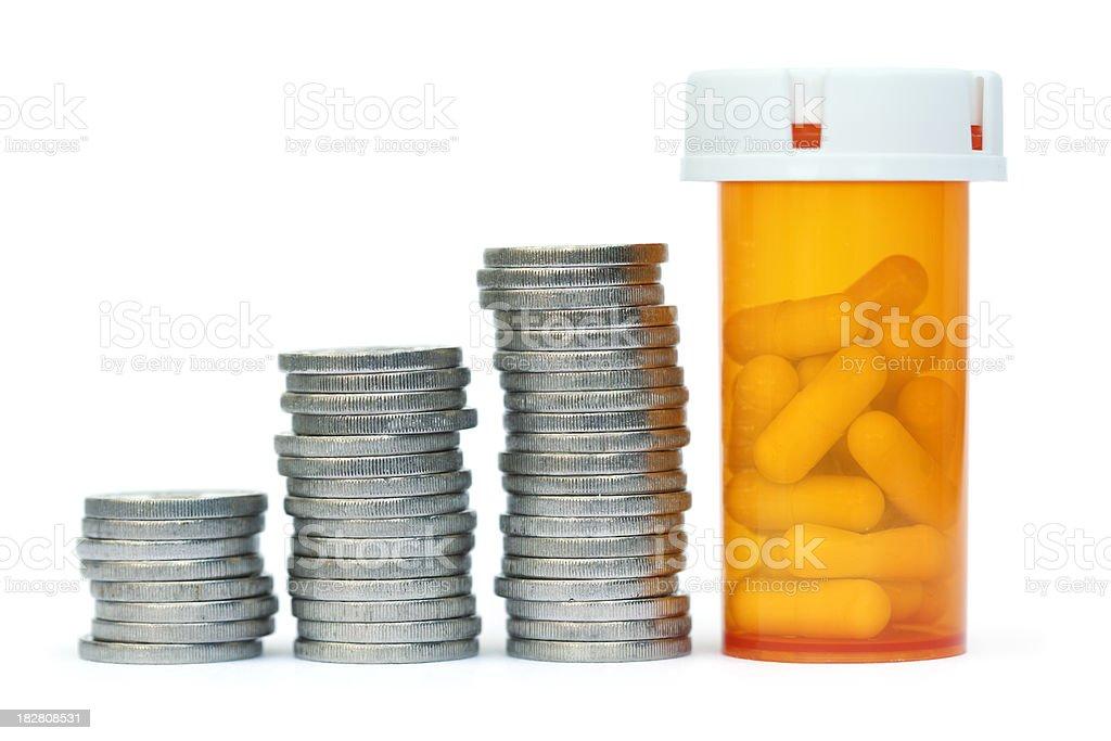Expensive drugs stock photo
