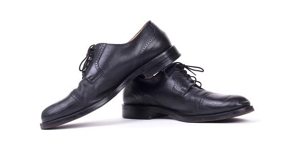 Teure Formale Schuhe Isoliert Stockfoto und mehr Bilder von Festlich gekleidet
