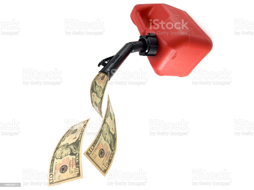 expensive gas royalty-free stock photo