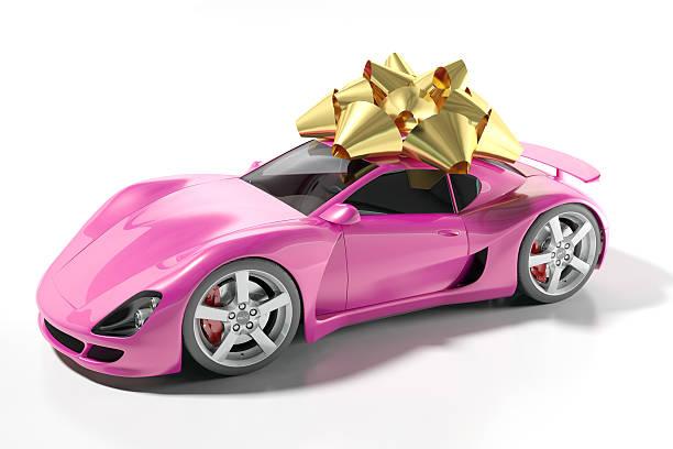teures geschenk - autoschleifen stock-fotos und bilder
