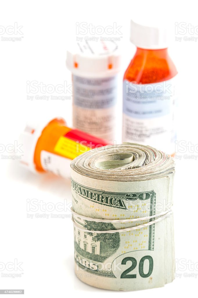Expensive healthcare stock photo