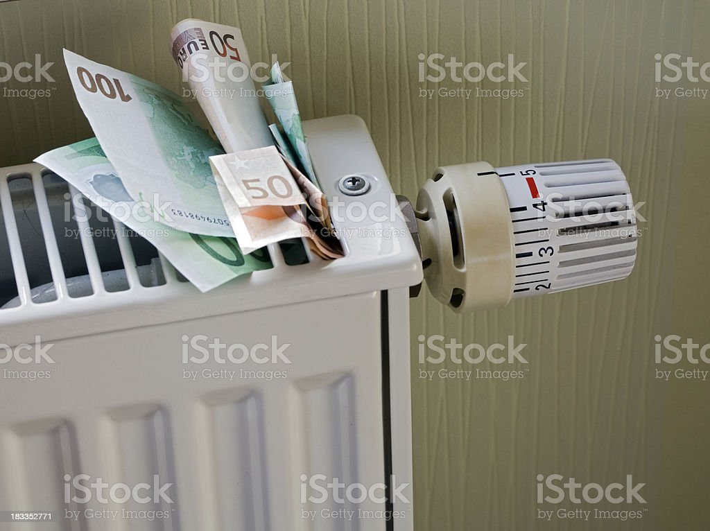 Expensive heating royalty-free stock photo