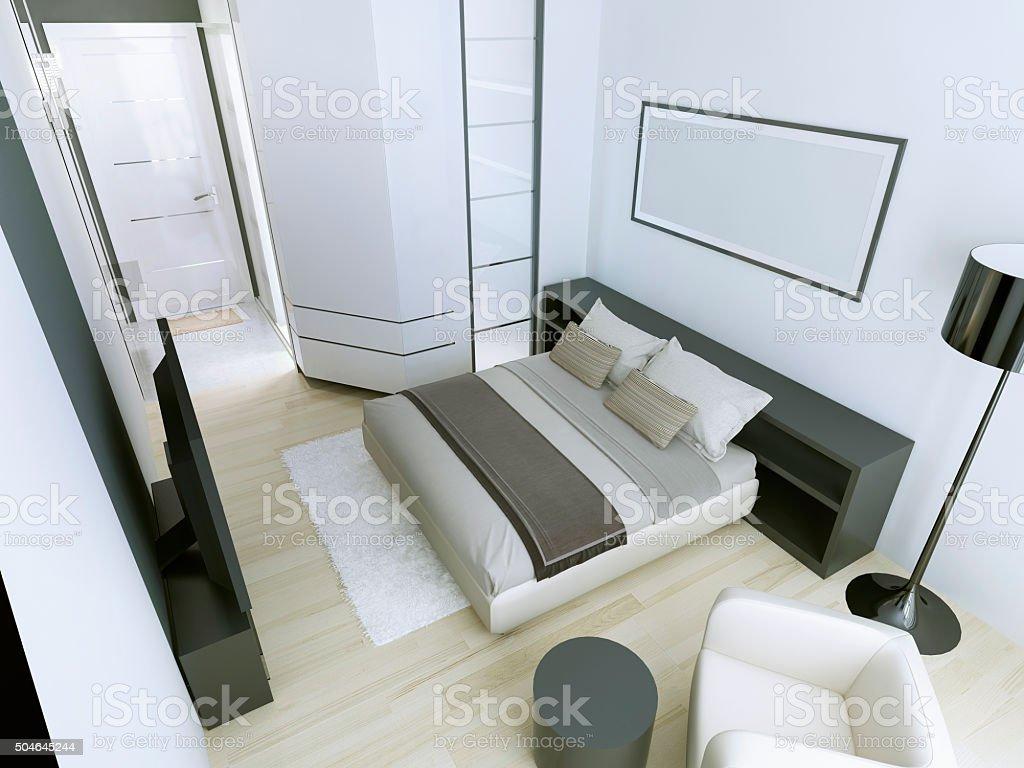Expensive hotel room stock photo