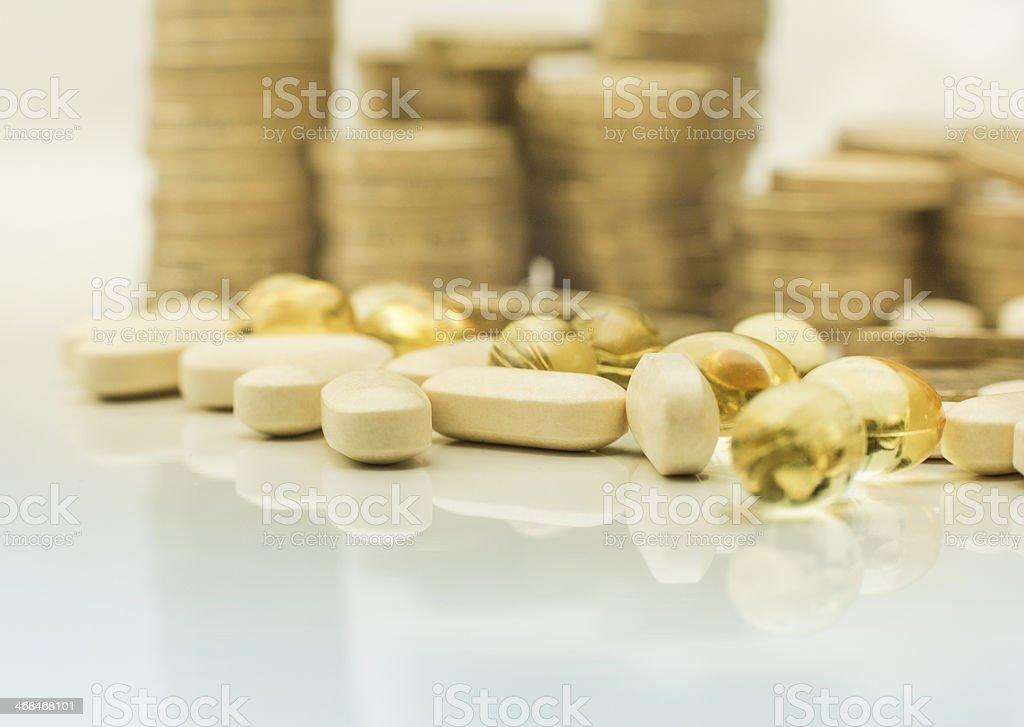 expensive prescription drugs royalty-free stock photo