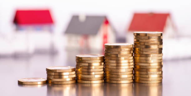 Expensive real estate stock photo