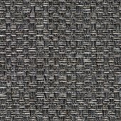 istock Expensive textile background in ideal grey hue. Seamless square texture. 1151627791