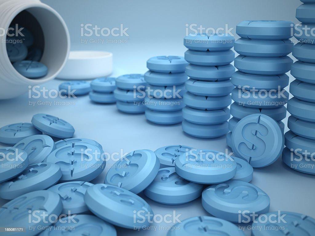Expensive treatment stock photo