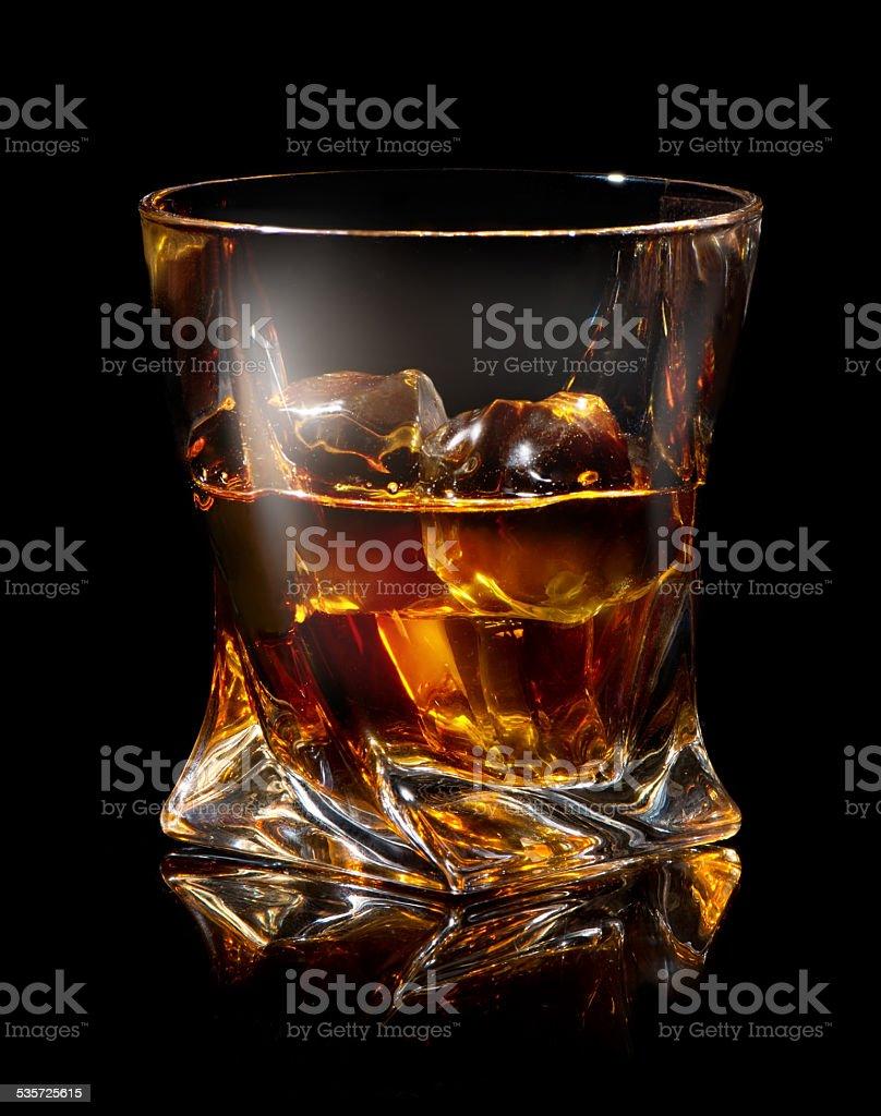 Expensive whiskey stock photo