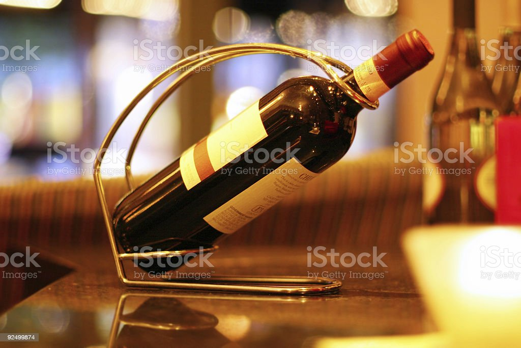 Expensive Wine royalty-free stock photo