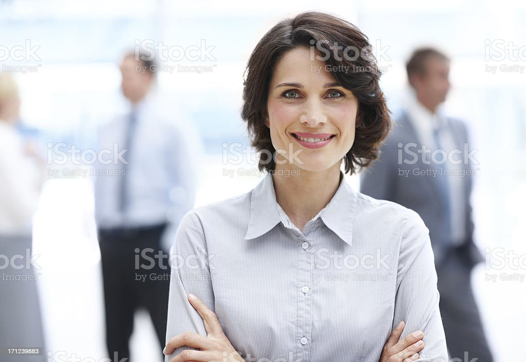 Experienced business executive stock photo