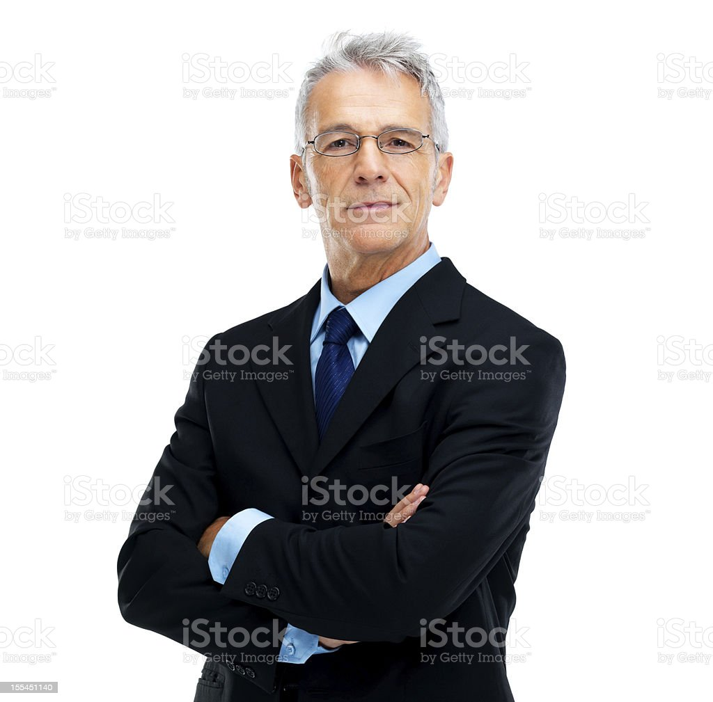 Experienced executive stock photo